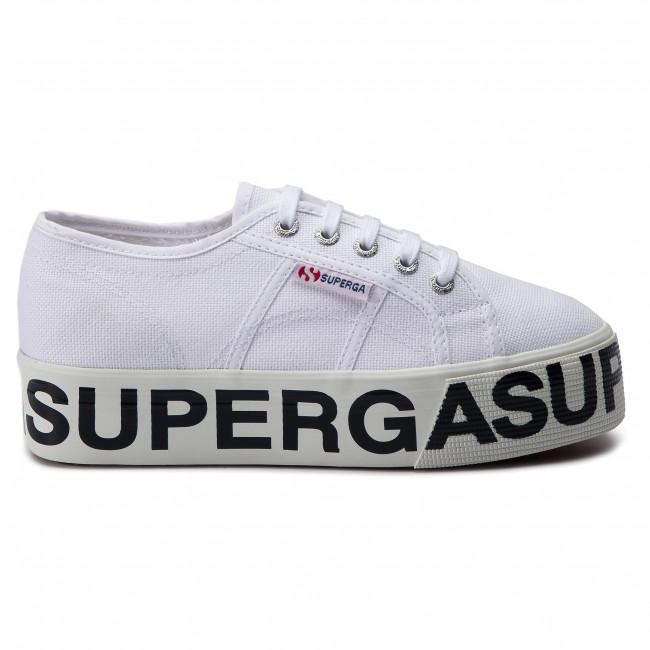 Scarpe sportive SUPERGA 2790 Cotw Outsole Lettering S00FJ80 White 901