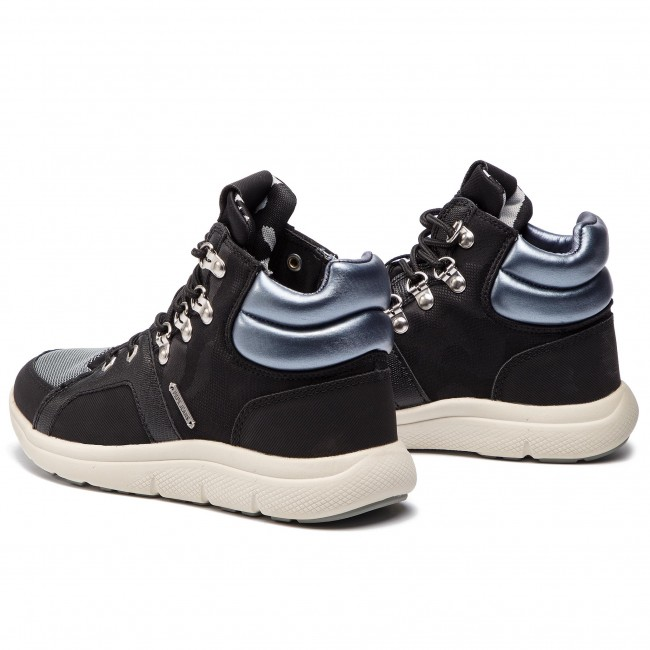 Sneakers PEPE JEANS - Hyke W Camu PLS30761 Black 999 - Sneakers - Scarpe basse - Donna