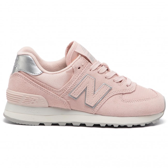 new balance donna rosa camoscio