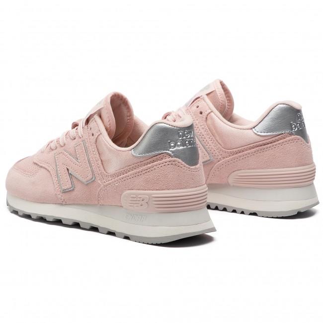new balance donna rosa lucido