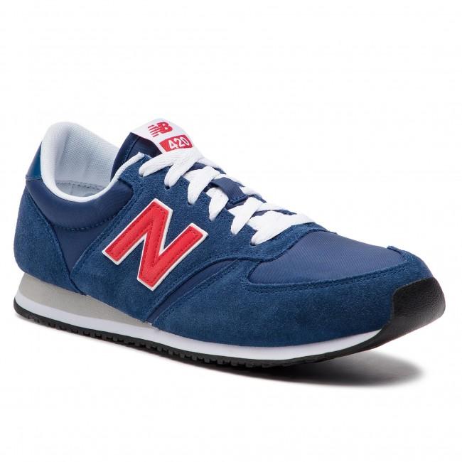 Scarpe Sneakers Basse Donna Scuro Blu New Balance U420mtr QrdtsCh