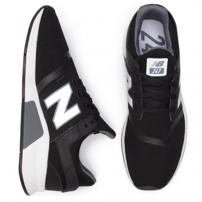 Ms247ff Sneakers Nero Balance Uomo Scarpe New Basse eIWHE29DY