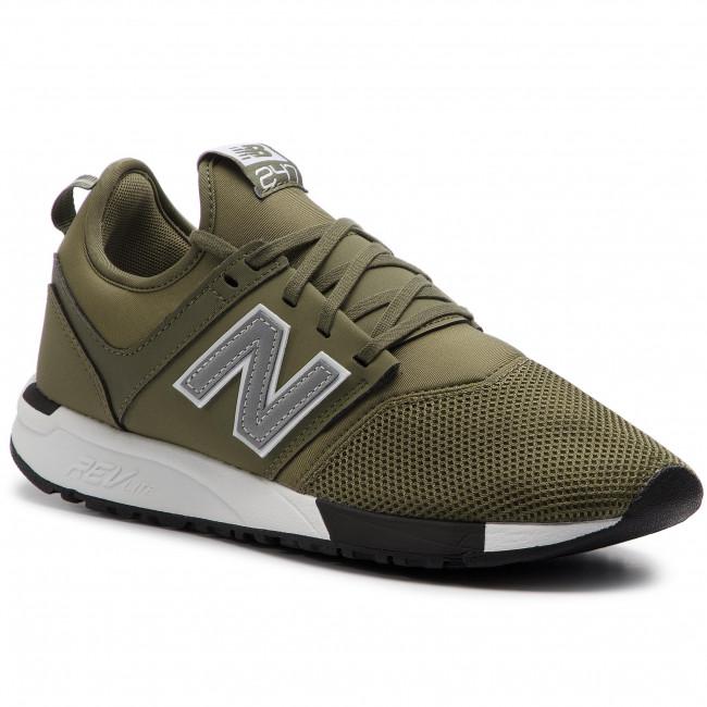 new balance sneaker uomo verde