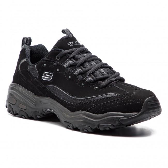 Sneakers Skechers D Lites 52675 Bbk Black Sneakers