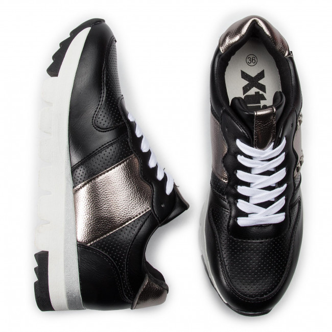Scarpe Donna Sneakers 48901 Basse Negro Xti lKFJT3c1