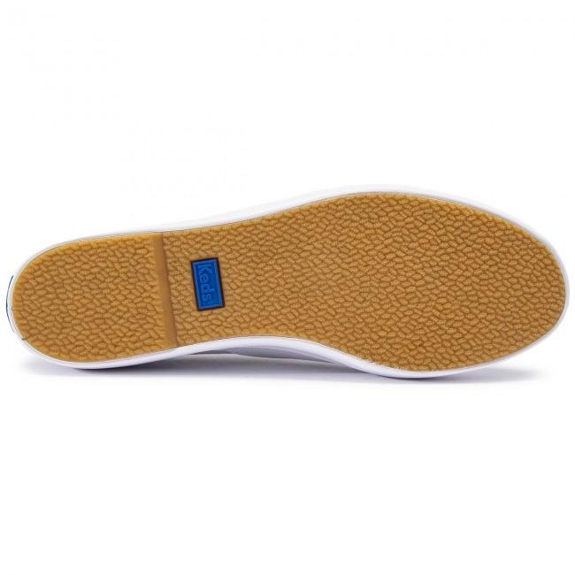 Scarpe sportive KEDS - Triple WF49946 White - Scarpe da ginnastica - Scarpe basse - Donna