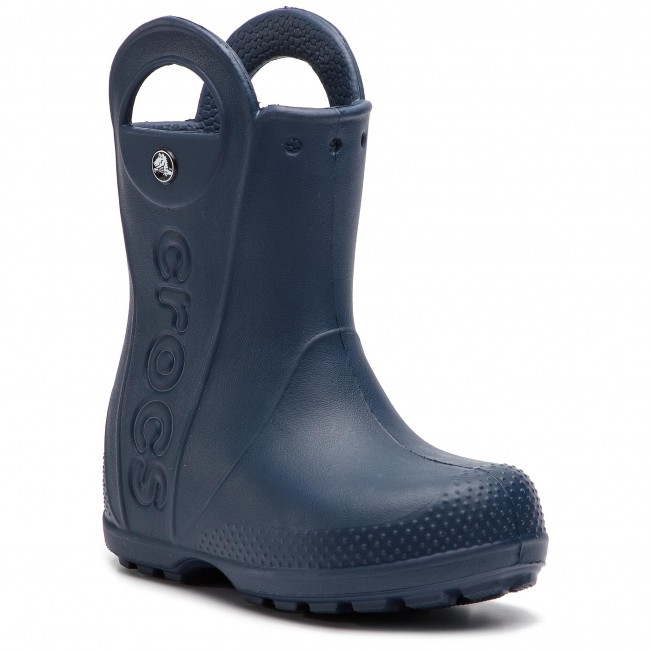 Handle Da It Boot Crocs Wellington Navy Stivali Pioggia E 12803 Altri Bambino Rain Kids bvIY7fgm6y
