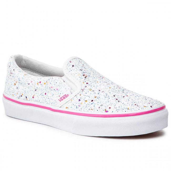 Scarpe sportive VANS Classic Slip On VN0A32QIVI61 (Glitter Stars) True Whit
