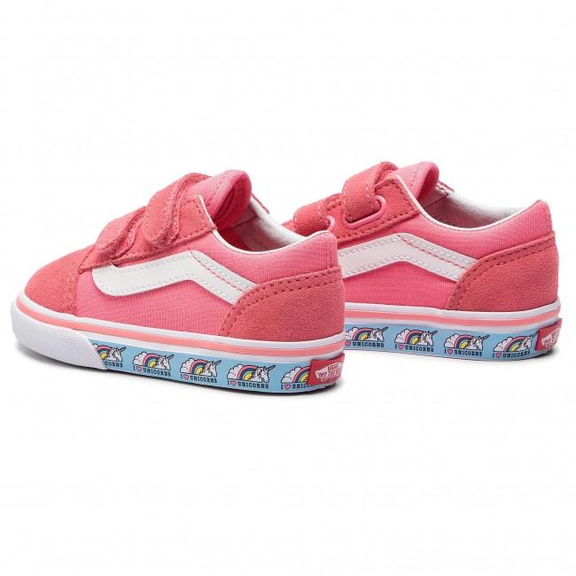 Scarpe sportive VANS Old Skool V VN0A344KVE01 (Unicorn) Strawberry Pink