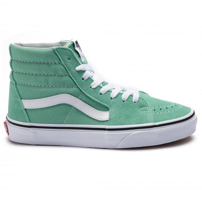 Sneakers VANS Sk8 Hi VN0A38GEVMX1 Neptune GreenTrue White