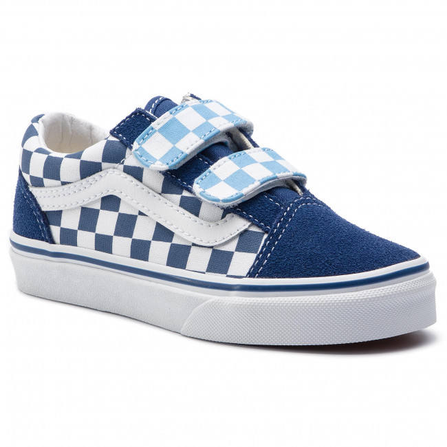 Scarpe sportive VANS Old Skool V VN0A38HDVDX1 (Checkerboard) True Navy