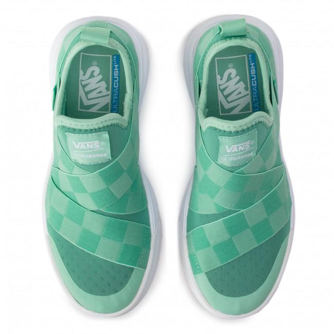 Sneakers VANS - Ultrarange Gore VN0A3MVRVU51 (Mega Check) Neptune Gree - Sneakers - Scarpe basse - Donna