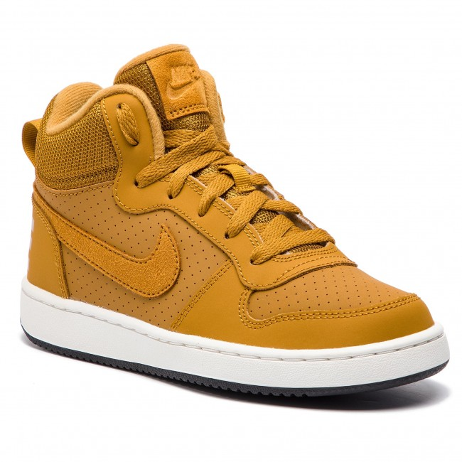 Scarpe NIKE - Court Borough Mid (GS) 839977 701 Wheat/Wheat/Summit White/Black