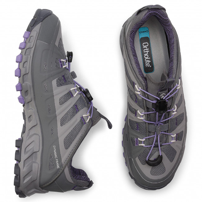 Scarpe da trekking AKU - Selvatica Gtx Ws GORE-TEX 679 Grey/Lilac 180 - Scarpe da trekking e scarponcini - Scarpe basse - Donna