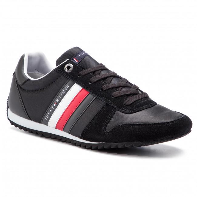 Sneakers TOMMY HILFIGER Essential Nylon Runner FM0FM02024 Black 990