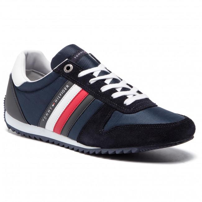 Sneakers TOMMY HILFIGER - Essential Nylon Runner FM0FM02024  Midnight 403