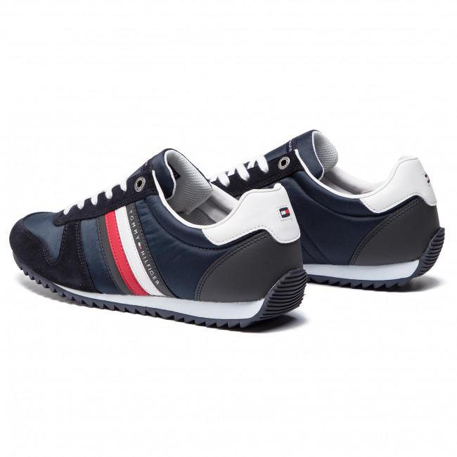 Sneakers TOMMY HILFIGER Essential Nylon Runner FM0FM02024 Midnight 403