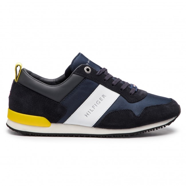 SNEAKERS UOMO TOMMY HILFIGER ICONIC FM0FM02042 MIDNIGHT