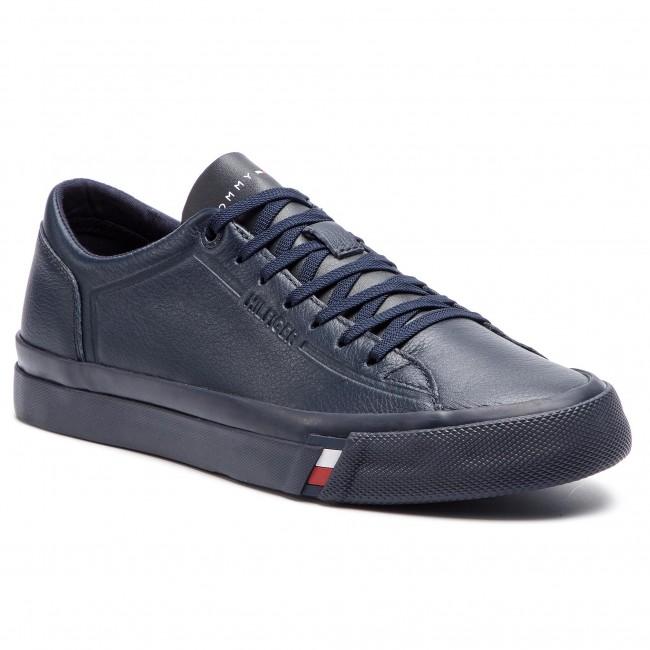 Corporate Leather Tommy Fm0fm02089 Sneakers Sneaker Hilfiger hrtdCQxsB