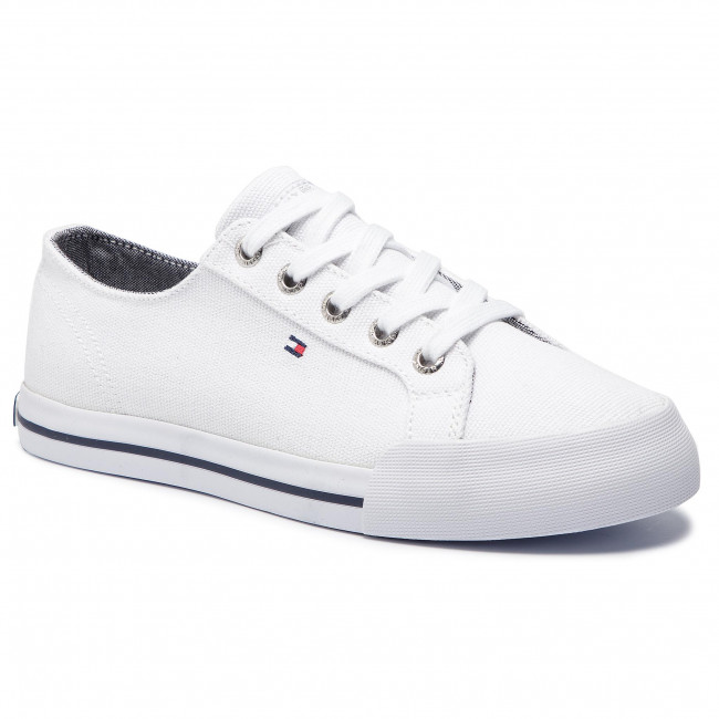 Scarpe sportive TOMMY HILFIGER Essential Sneaker FW0FW03853 White 100