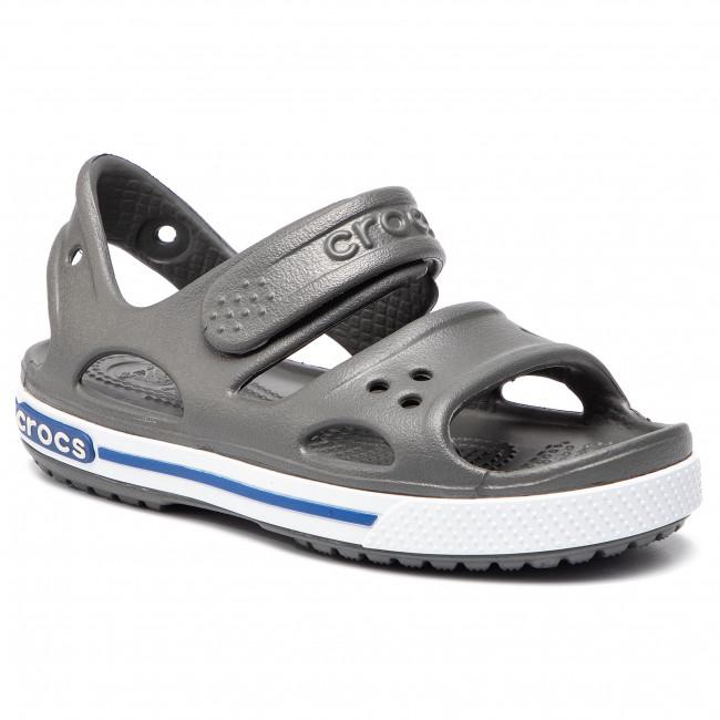 official photos a45a8 088a3 Sandali CROCS - Crocband II Sandal Ps 14854 Slate Grey/Blue Jean