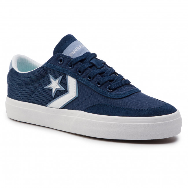white Scarpe 163187c Sneakers Courtland Navy white Donna Basse Converse ZikPTuOX