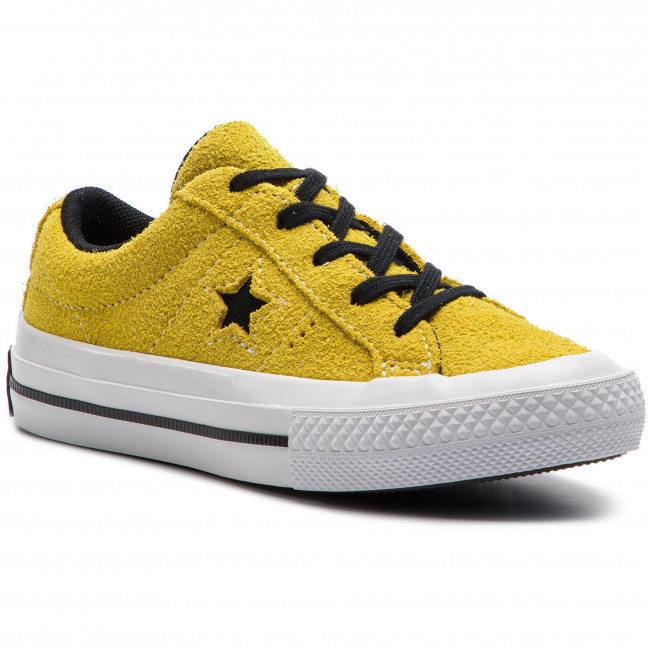 Scarpe sportive CONVERSE - One Star Ox 363690C Bold Citron/Black/White
