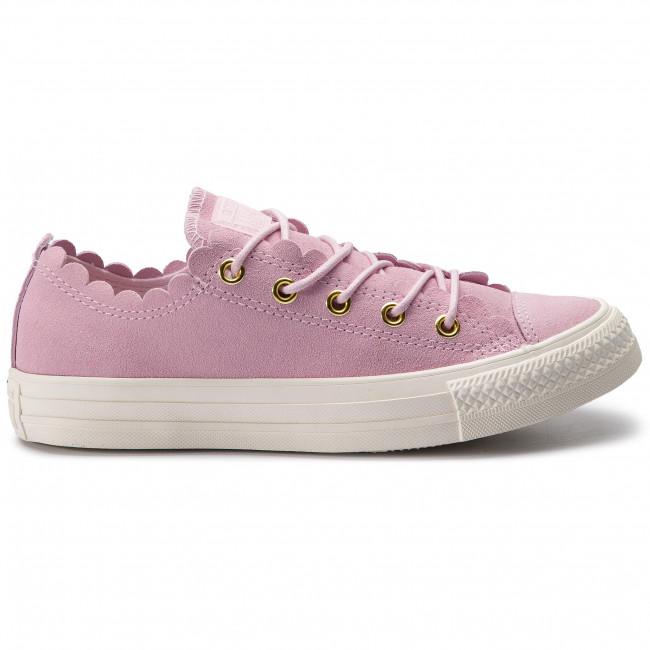 Scarpe sportive CONVERSE - Ctas Ox 563416C Pink Foam/Gold/Egret - Scarpe da ginnastica - Scarpe basse - Donna
