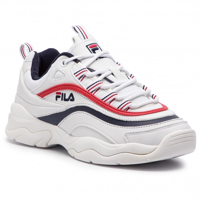 Sneakers FILA - Ray Low Wmn 1010562.150 White/Fila Navy/Fila Red