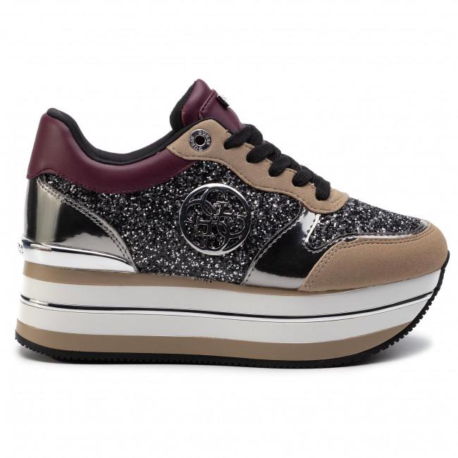 Fl7hn4 Guess Scarpe Basse Hinders4 Donna Sneakers Fam12 Borde N8ZwnOPkX0
