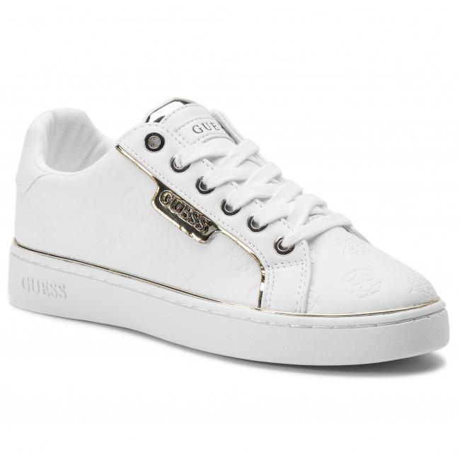 Sneakers GUESS - Banq FL7BAN ELE12 WHITE