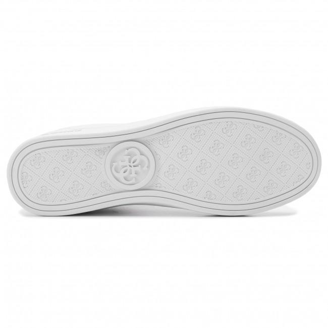 Sneakers Scarpe Fl7brn Guess White Basse Donna Brina Ele12 QdrxeWEBCo
