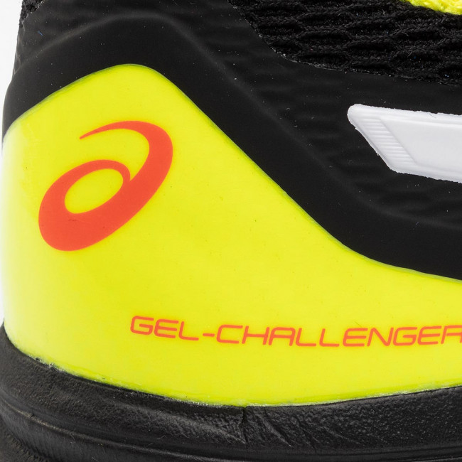 Yuzu Asics challenger 1041a048 Clay 015 Tennis Scarpe Sportive 12 sour Gel Uomo Black lKJcuF13T