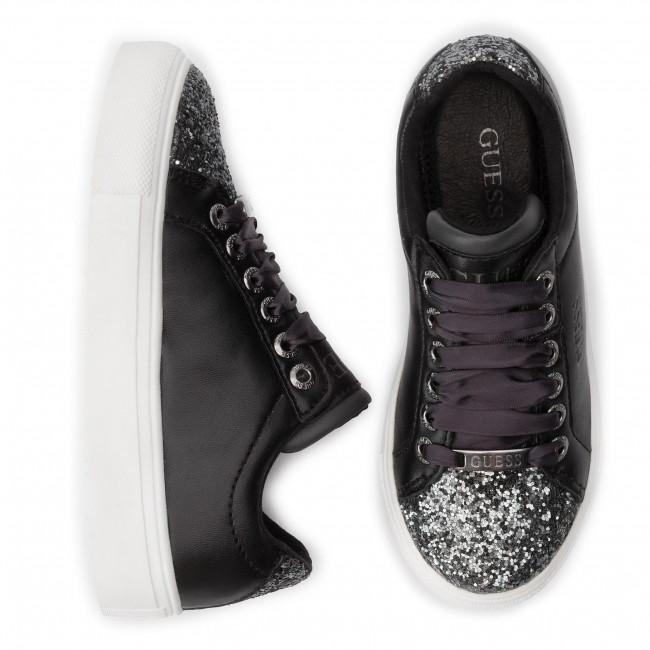 Sneakers Guess Basse Bambino Ele12 Stringate Scarpe Fi7mis Bambina Blk mN8vn0w
