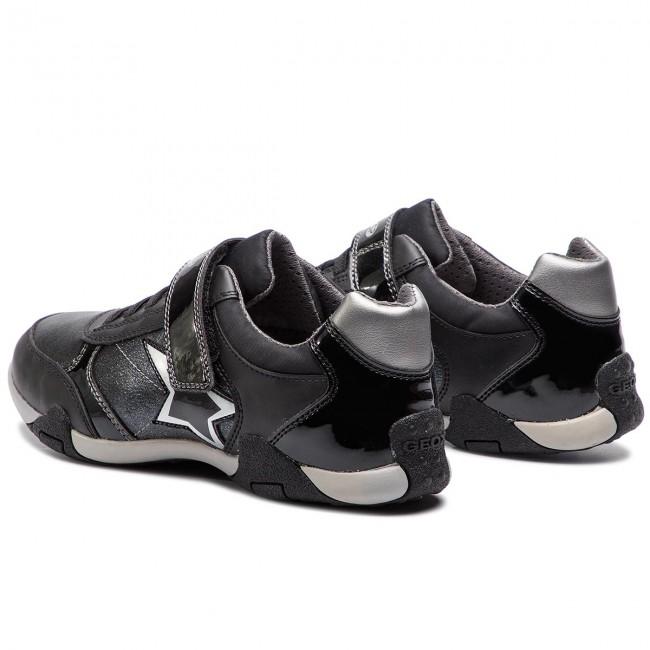 Scarpe Bambina B Basse Bambino J Tale C9999 Black 00254 Strappi J8421b Geox D Con Sneakers XuwPTOZlki