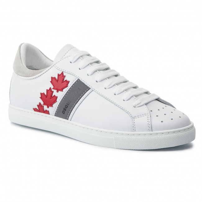 new concept ec455 38417 Sneakers DSQUARED2 - Canadian Team SNM0035 01501761 M244 Bianco Rosso