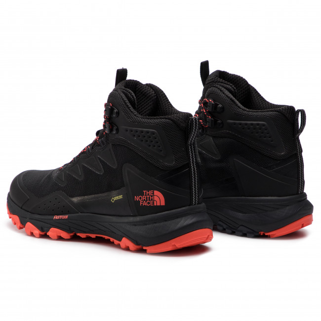 ed5e2ac910 Scarpe da trekking THE NORTH FACE - Ultra Fastpack III Mid Gtx GORE-TEX  T939ITAMJ Tnf Black/Fiery Coral