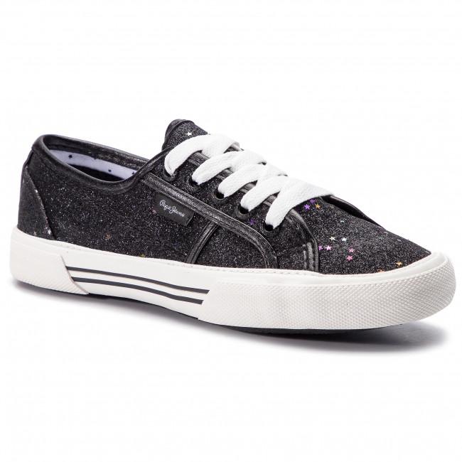 Scarpe Basse Jeans Aberlady Stars Black Da Donna Sportive Ginnastica Pepe 999 Pls30817 rxBeWoQdC