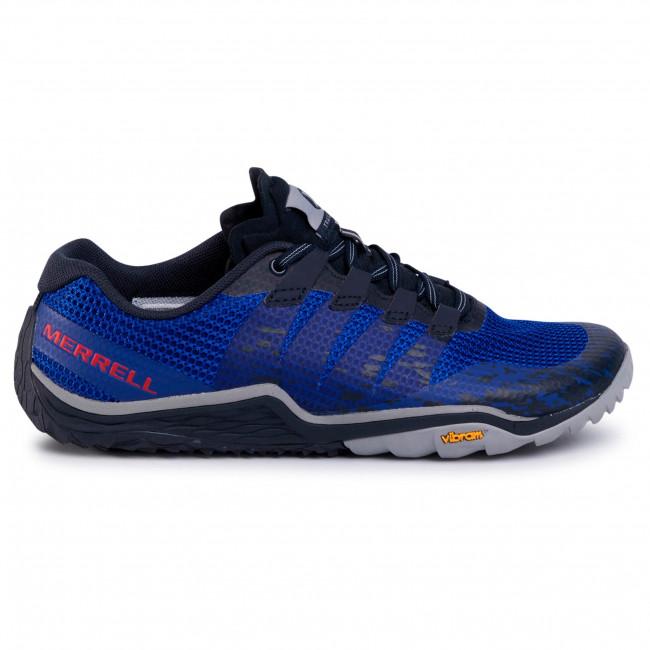 Scarpe MERRELL - Trail Glove 5 J84811 Marine - Trail running - Running - Scarpe sportive - Uomo