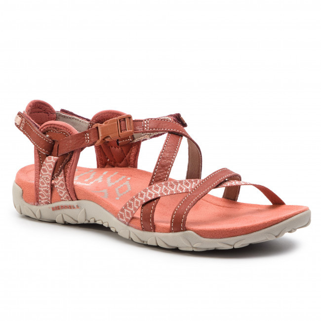 Merrell Terran post II Linea donna sandali calzature-Fucsia Tutte Le Taglie