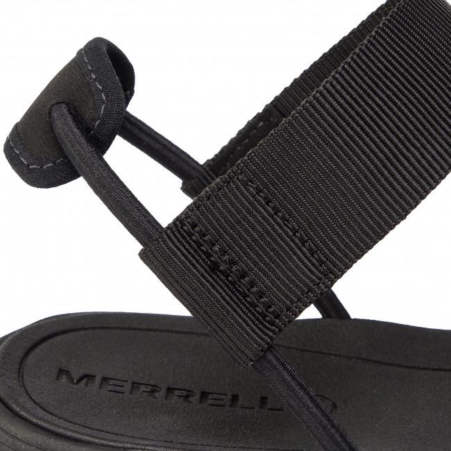 Sandali MERRELL - Duskair Calais Backstrap J97696 Black - Sandali da giorno - Sandali - Ciabatte e sandali - Donna