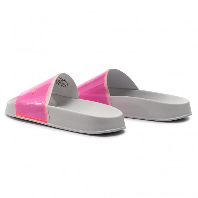 Ciabatte PEPE JEANS Flap Fluor PLS70052 Disco Pink 356