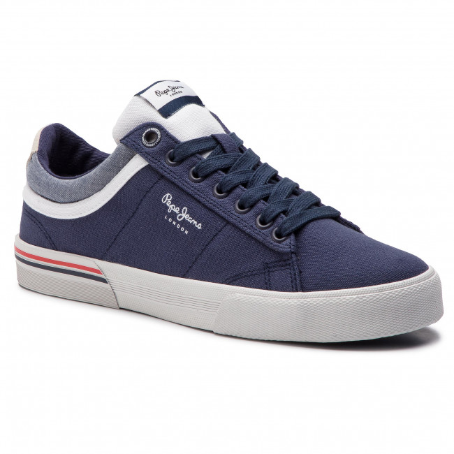 Sneakers PEPE JEANS - North Court PMS30530 Navy 595
