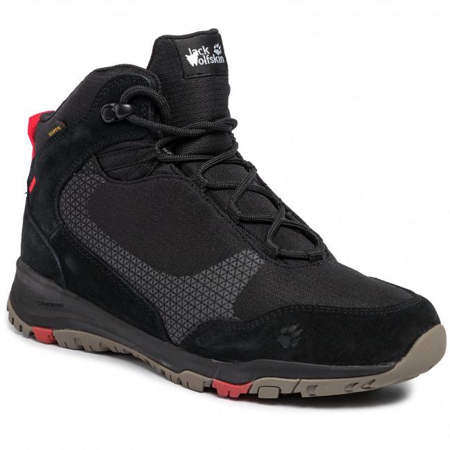 timeless design f9fc5 4745a Scarpe da trekking JACK WOLFSKIN - Activate Xt Texapore Mid M 4035212  Black/Red
