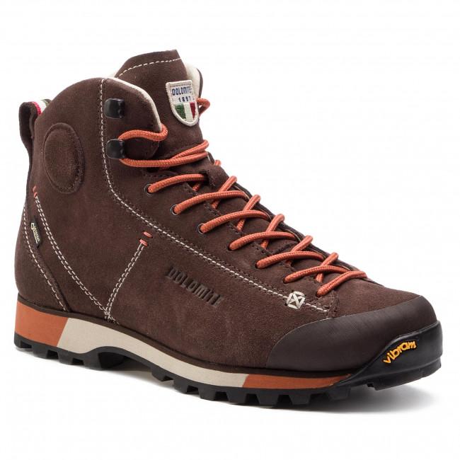 size 40 3850f 69a0e Scarpe da trekking DOLOMITE - Cinquantaquattro Hike Gtx GORE-TEX  269482-1137 Dark Brown/Red