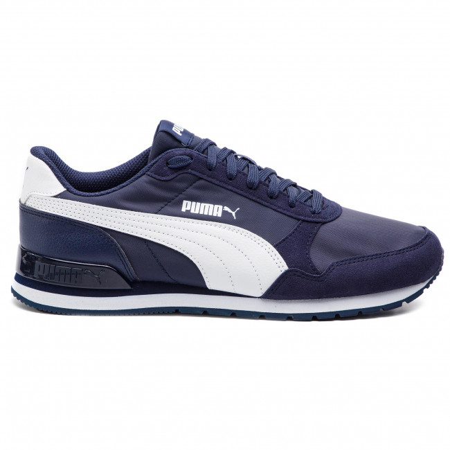 365278 puma 08 Scarpe St Uomo Puma White Runner V2 Basse Peacoat Sneakers Nl N8Ovnm0w