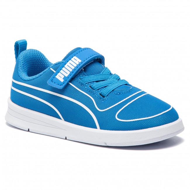 Inf A Scarpe 06 Bunting 367768 puma Sneakers White Bambino V Strappi Indigo Puma Basse Kali WE2IDH9