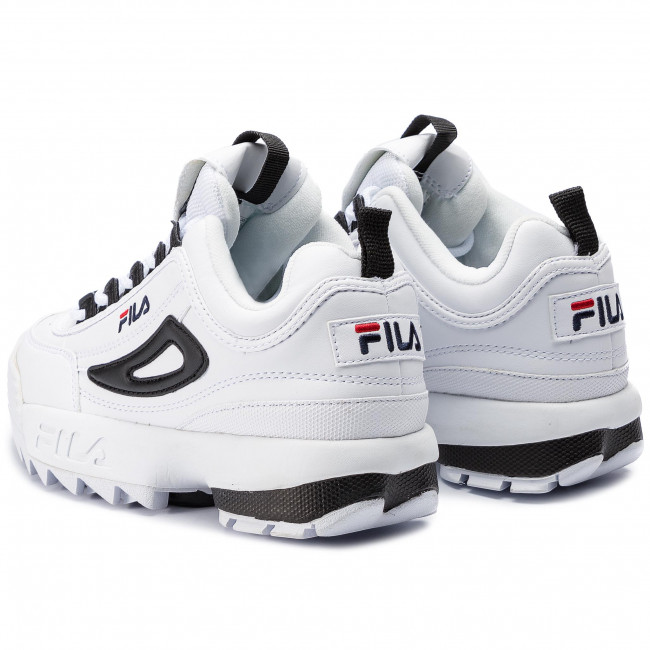 Sneakers FILA - Disruptor Cb Low Wmn 1010604.00E White/Black