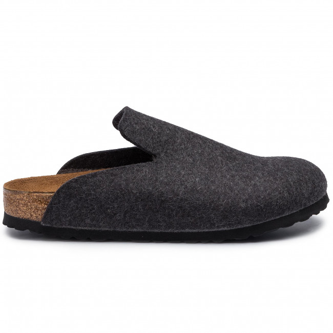 Davos 1011221 Uomo Sandali Pantofole Birkenstock Anthracite Ciabatte E 34RjA5L