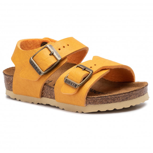 uk availability e1b59 b1420 Sandali BIRKENSTOCK - New York Kids Bs 1014521 Saddle Curry